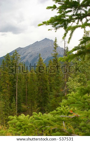 Rockies in Banff, Alberta
