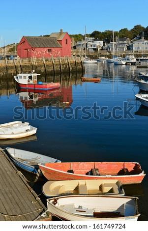 Rockport, Massachusetts, USA - stock photo