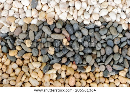 Rocks for landscaping. - stock photo