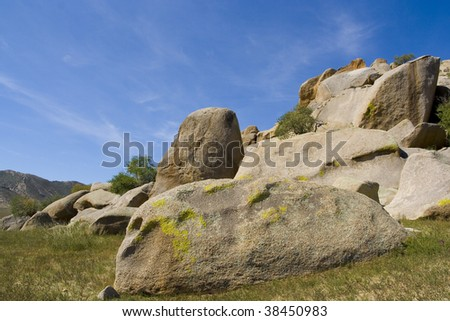 Rocks in mongolia