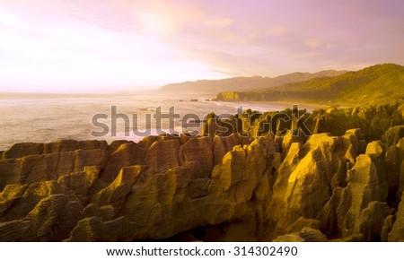 rocks scenic view mountains Concept