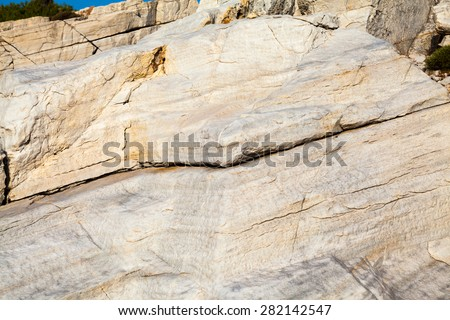 Rocks - textures and layers from Aegean seashore