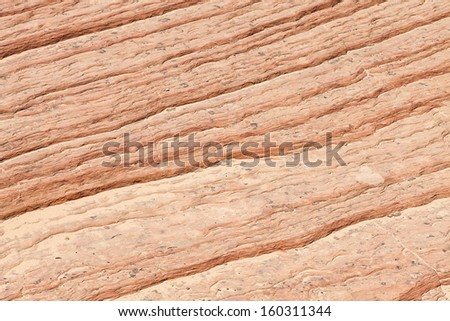 Rocky background in Zion National Park, USA - stock photo