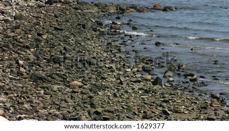 Rocky Coast - stock photo