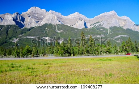 Rocky Mountains, Banff, AB