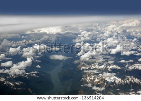 Rocky Mountains, Kinbasket Lake, British Columbia,Canada