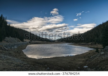 Rocky Mountains National Park Landscape, Colorado, USA