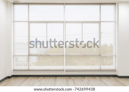 Roll Blinds On Windows Sun Does Stock Photo 706162630 Shutterstock
