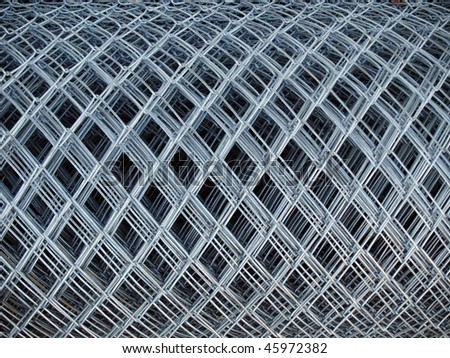 roll of gray steel Chicken Wire