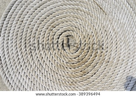 roll of rope