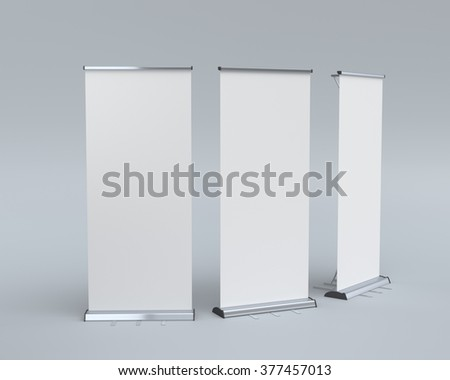 roll-ups at different angles on light blue background