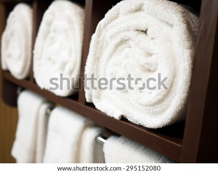 Towel Rack Stock Images Royalty Free Images Amp Vectors