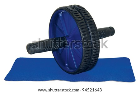 Roller fitness - stock photo