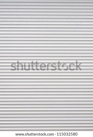 Roller Shutter Background - stock photo