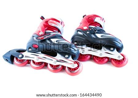 roller skates - stock photo