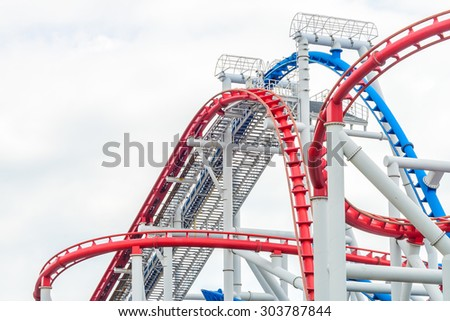 Rollercoaster park in singapore