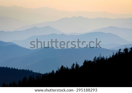 Rolling Hills of Great Smokey Mountains