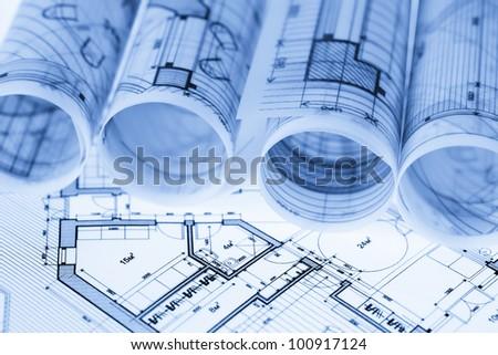 Architecture Blueprints rolls architecture blueprints stock photo 89198686 - shutterstock
