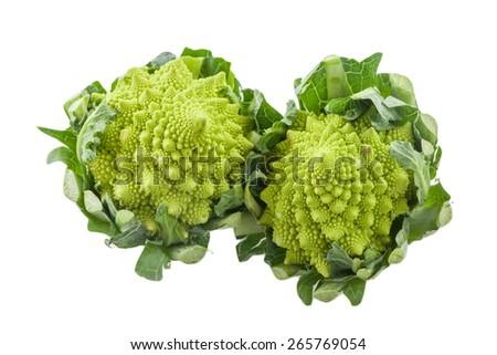 Roman cauliflower - stock photo