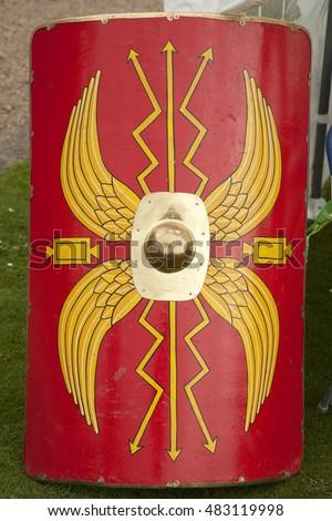 Roman Shield Stock Ima...