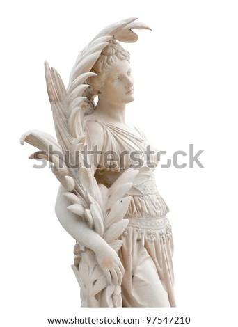 Roman statues - stock photo