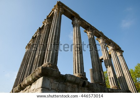 Roman Temple - Evora - Portugal
