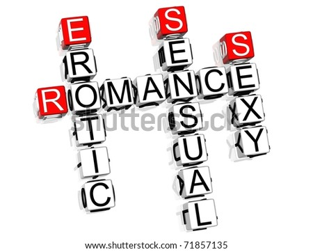Romance Crossword text on white background