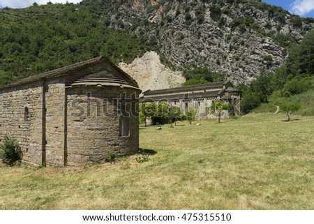 Romanesque churches in the village of Taull in the Spanish  Pyrenees, Twelfth Century