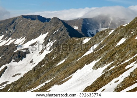 Romania, Carpathian Mountains, Fagaras Ridge