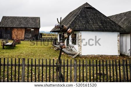 Alexandru logel 39 s portfolio on shutterstock - Romanian peasant houses ...