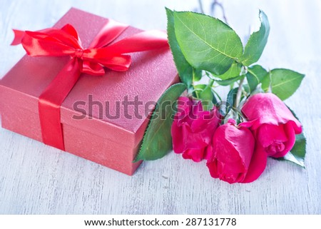 Romantic gift stock images royalty free images vectors romantic gift and rose negle Image collections