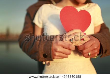 Romantic Love - stock photo