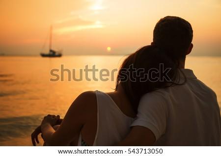 stock photo romantic love.