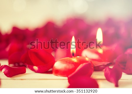 Romantic still life with beautiful roses. Valentine's day concept.