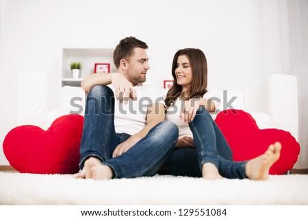 Romantic valentine's day - stock photo