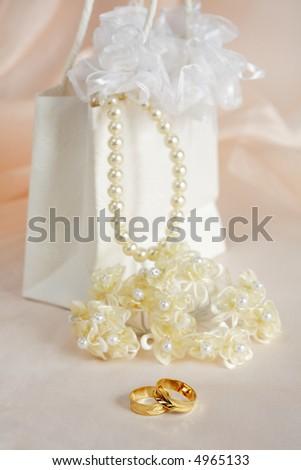 Romantic wedding - stock photo