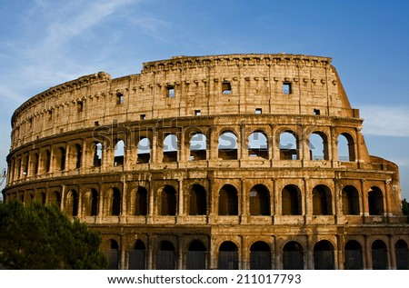 Rome Colosseum, Rome Italy