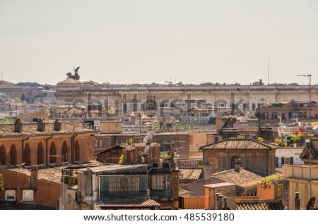 Rome is full of many beautiful and historical buildings and architectural detail