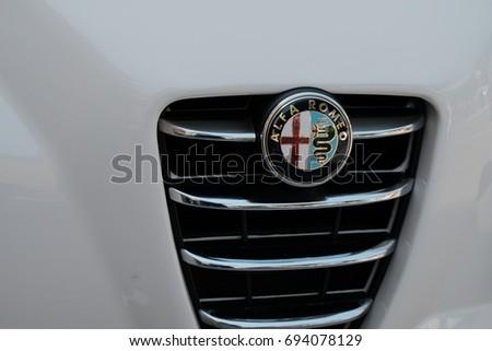 Rome Italy August 9 2017 Alfa Stock Photo Royalty Free 694078129