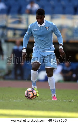 Rome, Italy 25 september, 2016: Keita in action during the match Serie A league  between Lazio vs Empoli in Olimpic stadium in Rome on September 2016.