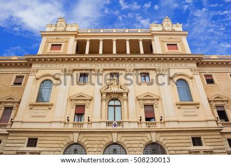 gregoriana in rome italy - photo#7