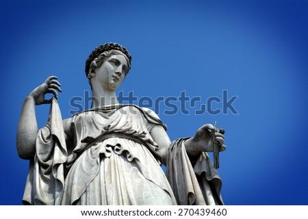 Rome, Piazza del Popolo - stock photo