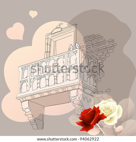 Romeo&Juliet - stock photo