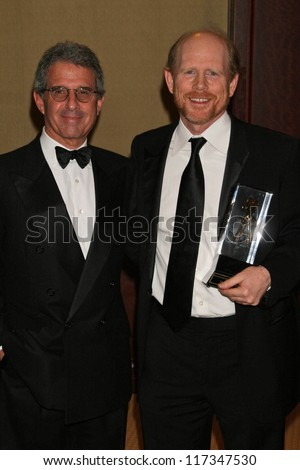 Ron Meyer and Ron Howard at the American Society of Cinematographers 21st Annual Outstanding Achievement Awards. Hyatt Regency Century Plaza Hotel, Century City, CA. 02-18-07