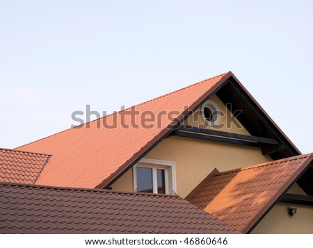 roof - stock photo