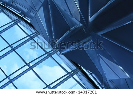 Roof design - stock photo