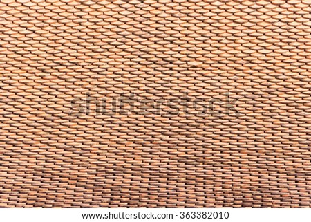 roof designs - stock photo