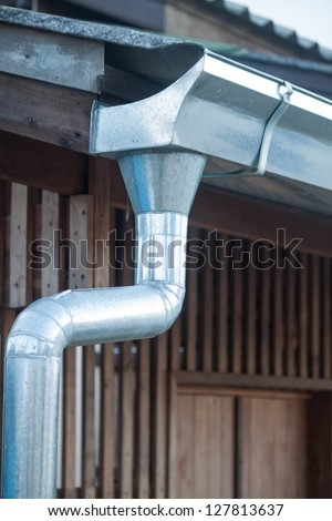 Roof Gutter Stock Images Royalty Free Images Amp Vectors