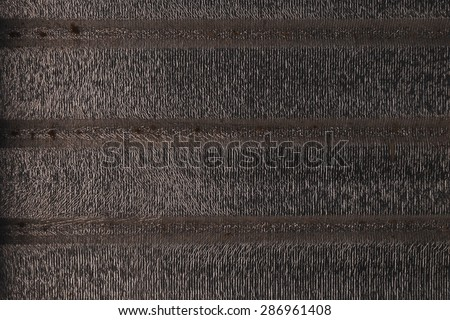 Roof Heat Shield Texture - stock photo