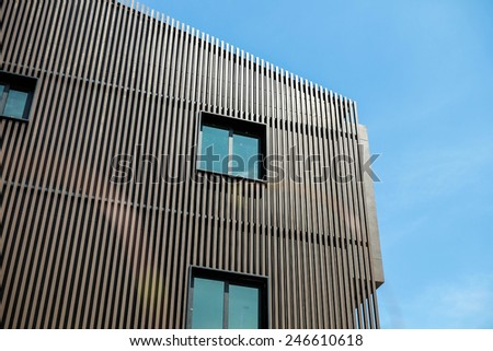 Roof house - stock photo